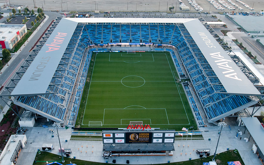 Avaya stadium used Big Dippers to manage the grease from each of their vendors.